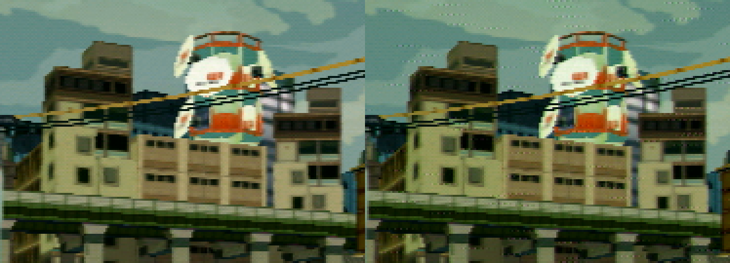 Jet Set Radio Future Comparison